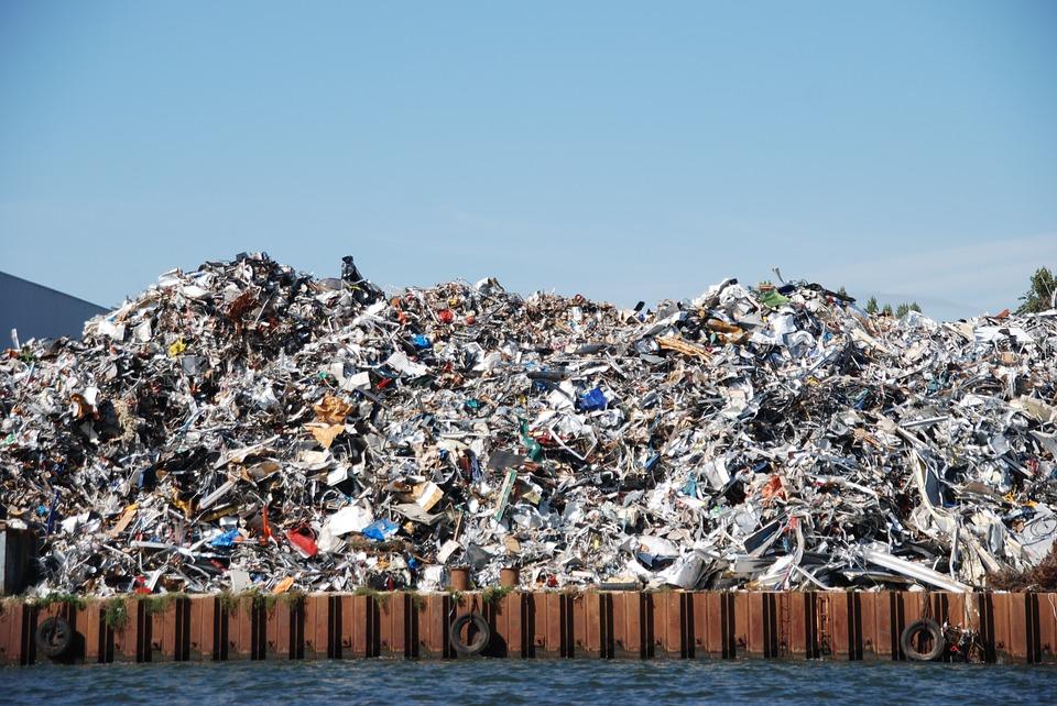 london waste dumping