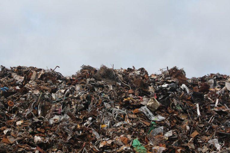 rubbish dumping london