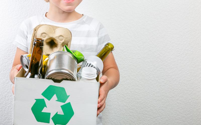 box of recylcing