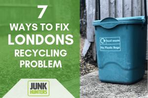 London rubbish removal statistics