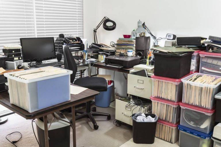 office clutter in london