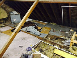 Loft-clearance-with-rubbish
